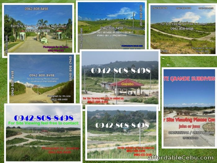 1st picture of Subdivision lot for sale as low as 4,000 per sqm Elevated area in San Vicente Liloan. For Sale in Cebu, Philippines