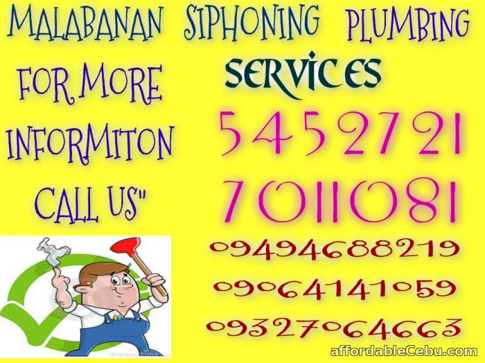1st picture of RTJ MALABANAN SIPHONING SERVICES 7011081/09064141059 Offer in Cebu, Philippines