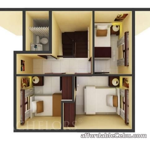 4th picture of FOR SALE HOUSE AND LOT IN CANDUMAN MANDAUE CITY Almiya Vera Single Attached For Sale in Cebu, Philippines