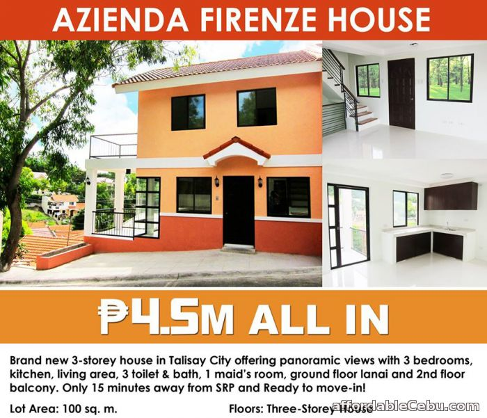 1st picture of For Sale 3 Storey Elegant House in Talisay City Cebu For Sale in Cebu, Philippines