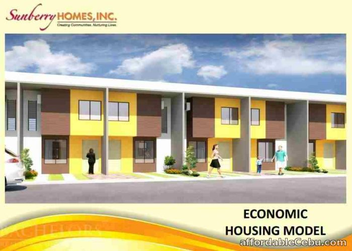 1st picture of Sunberry Homes Townhouses For Sale in Cebu, Philippines