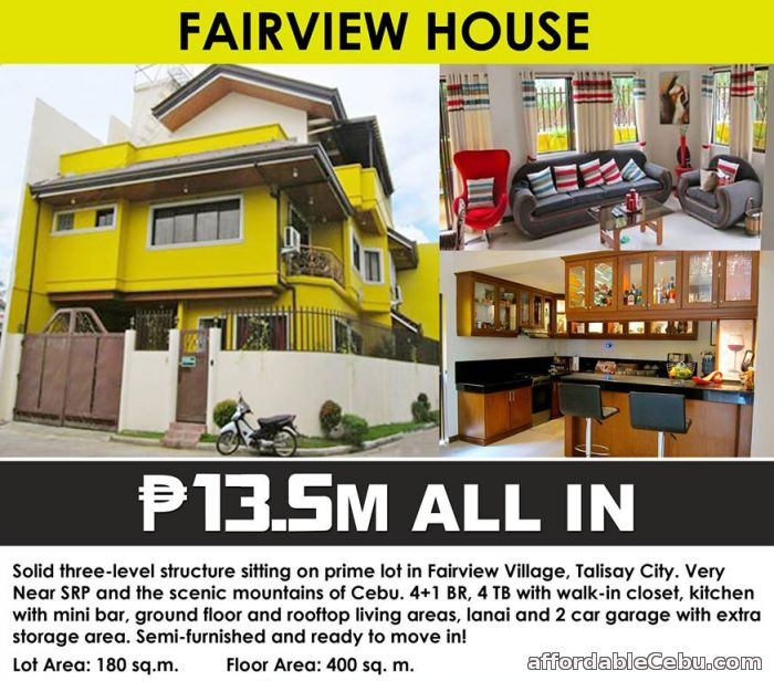 1st picture of For Sale Luxurious and Secure House in Talisay City For Sale in Cebu, Philippines