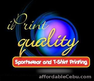1st picture of Affordable T-Shirt and Sportswear Printing in Cebu (Silk Screen) Offer in Cebu, Philippines