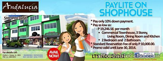 3rd picture of Cordova Shophouse, a 3-Storey Commercial Townhouse For Sale in Cebu, Philippines
