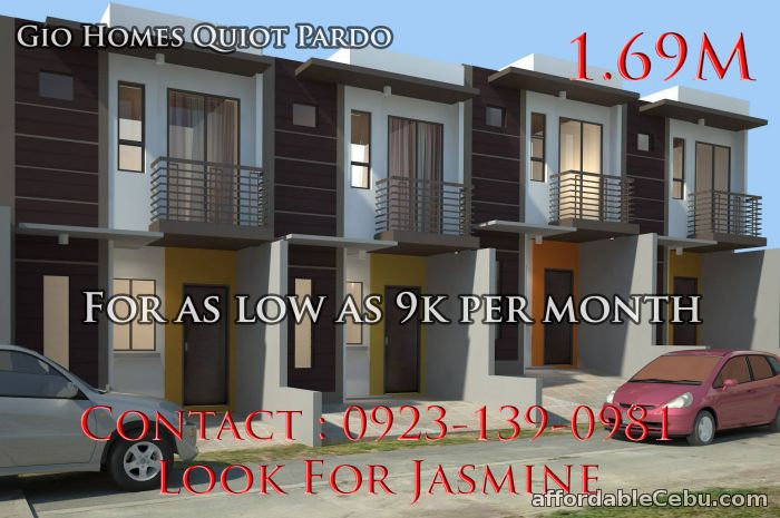 1st picture of Quiot Pardo House & Lot for as low as 9k per month For Sale in Cebu, Philippines