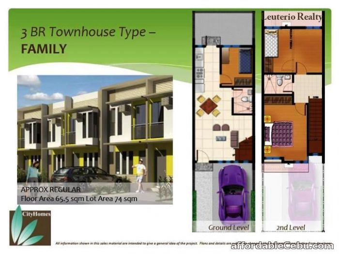 5th picture of 1.8M-2.3M House and Lot @ Mactan Citihomes For Sale in Cebu, Philippines