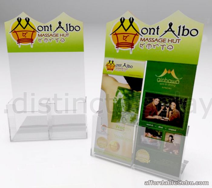 5th picture of Acrylic Brochure Holder  / Poster Holder / Magazine Holder / Poster Holder / Flyer Holder For Sale in Cebu, Philippines