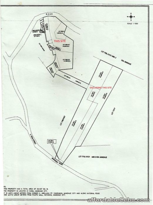 4th picture of Land for sale in Mandaue City Cebu 7,825 square meters For Sale in Cebu, Philippines