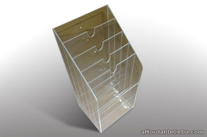4th picture of Acrylic Brochure Holder  / Poster Holder / Magazine Holder / Poster Holder / Flyer Holder For Sale in Cebu, Philippines
