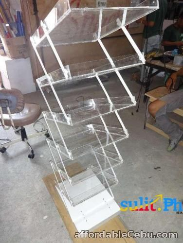 2nd picture of Acrylic Brochure Holder  / Poster Holder / Magazine Holder / Poster Holder / Flyer Holder For Sale in Cebu, Philippines