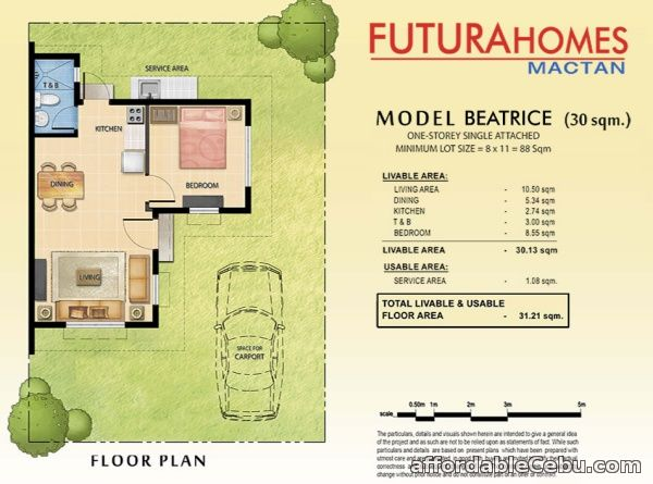 2nd picture of House and Lot in Futura homes mactan For Sale in Cebu, Philippines