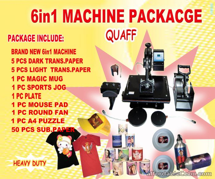 1st picture of 6in1 package(quaff) For Sale in Cebu, Philippines
