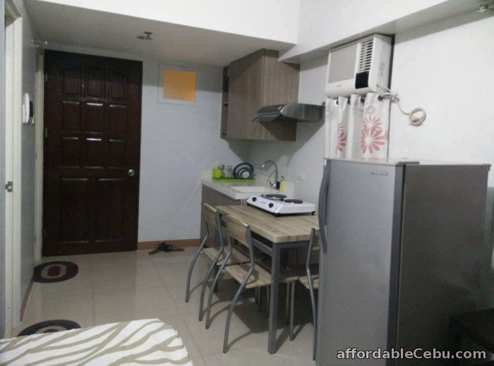 4th picture of CEBU Corner Unit Studio with balcony and furnishings FOR SALE For Sale in Cebu, Philippines
