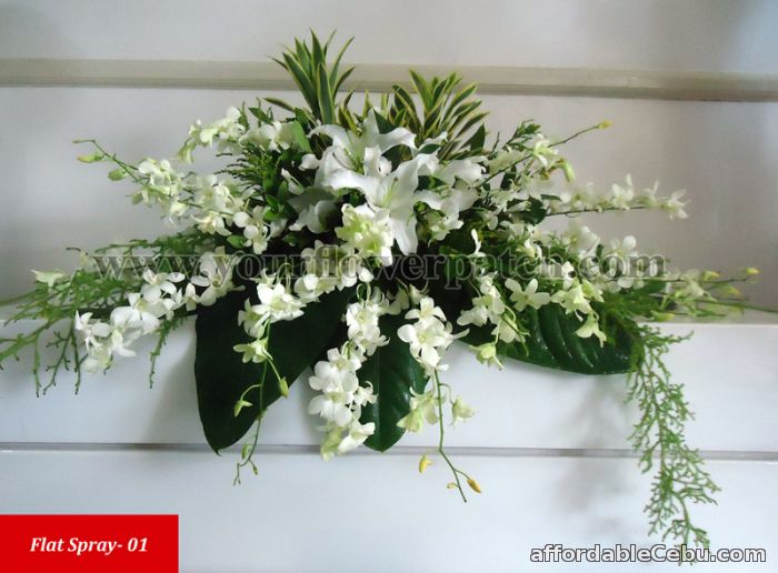 1st picture of Flower arrangements WITH FREE flower delivery for All Saint's Days For Sale in Cebu, Philippines