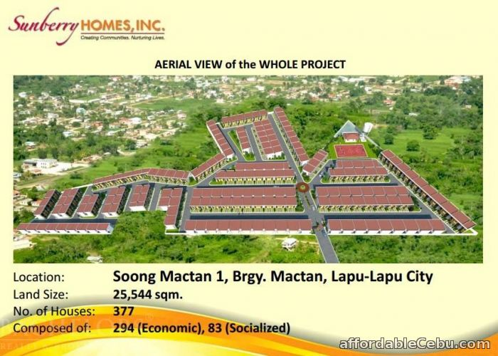 5th picture of Sunberry Homes Townhouses For Sale in Cebu, Philippines