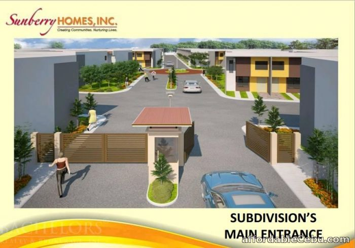 3rd picture of Sunberry Homes Townhouses For Sale in Cebu, Philippines