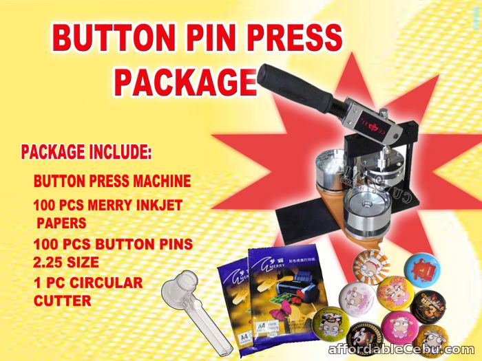 1st picture of cuyi button pin press package For Sale in Cebu, Philippines