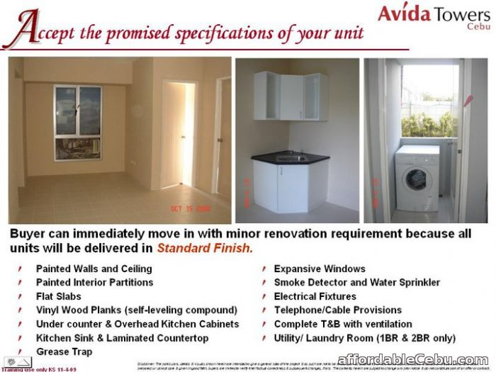 """2nd picture of AVIDA Towers RIALA-Cebu I.T Park """" A Worthy Investment By Ayala Land """" 11/06/15 For Sale in Cebu, Philippines"""