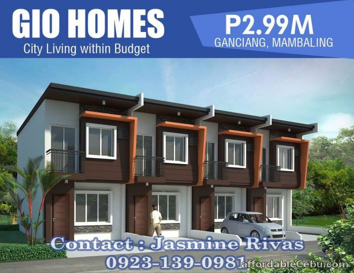 3rd picture of GIO HOMES - Ganciang, Mambaling - Near SHOPWISE & GAISANO - 2.99M Updated about 2 months ago For Sale in Cebu, Philippines