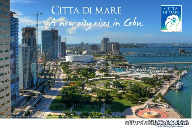 1st picture of City di Mare, The Lifestyle Capital of Cebu featuring AMALFI by FILINVEST-11/06/15 For Sale in Cebu, Philippines
