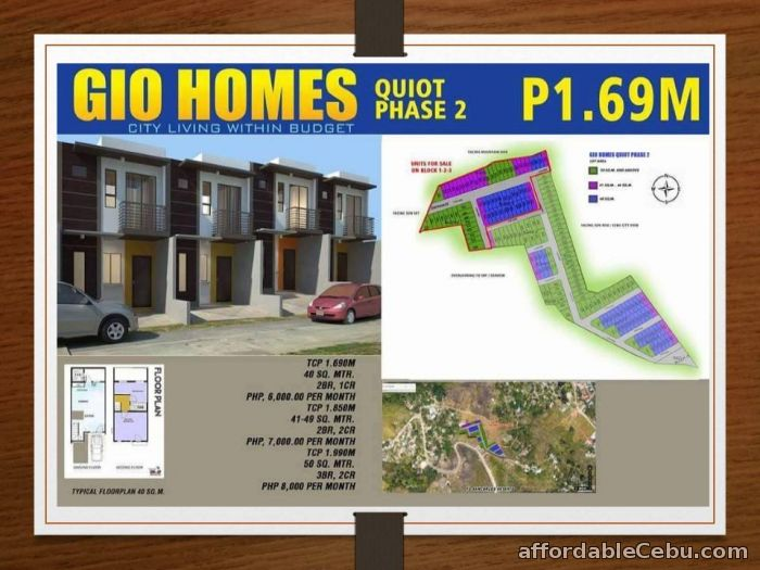 1st picture of Affordable House in Cebu For Sale in Cebu, Philippines