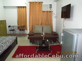 3rd picture of Furnished Studio Unit with Balcony near IT Park Lahug, Cebu City For Rent in Cebu, Philippines