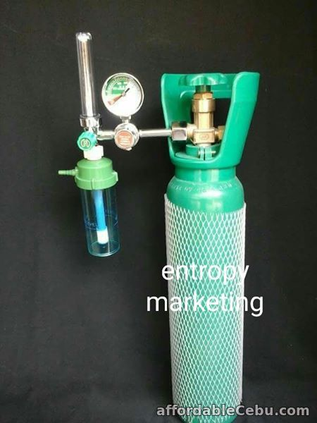 1st picture of 5 Lbs Medical Oxygen Tank with Regulator For Sale in Cebu, Philippines
