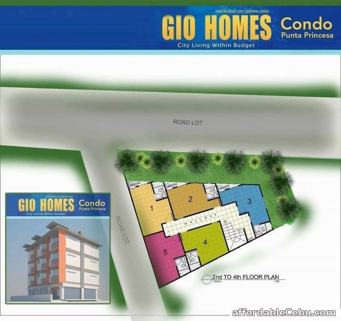3rd picture of GIO HOMES CONDO - Punta Princesa - 750k to 1.5M For Sale in Cebu, Philippines