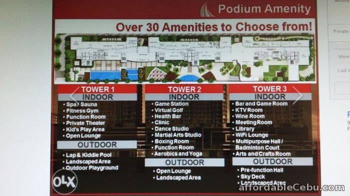 3rd picture of For As Low As 8,350.00/month You Can Live In Style And Convenience @ Robinsons Residences Galleria- Pre-Selling Now !!! Announcement in Cebu, Philippines