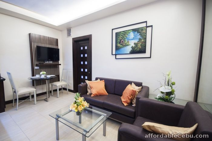 3rd picture of Furnished Apartment 1 bedroom with shower 36sqm for rent For Rent in Cebu, Philippines