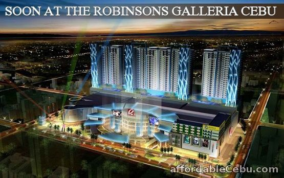 2nd picture of For As Low As 8,350.00/month You Can Live In Style And Convenience @ Robinsons Residences Galleria- Pre-Selling Now !!! Announcement in Cebu, Philippines