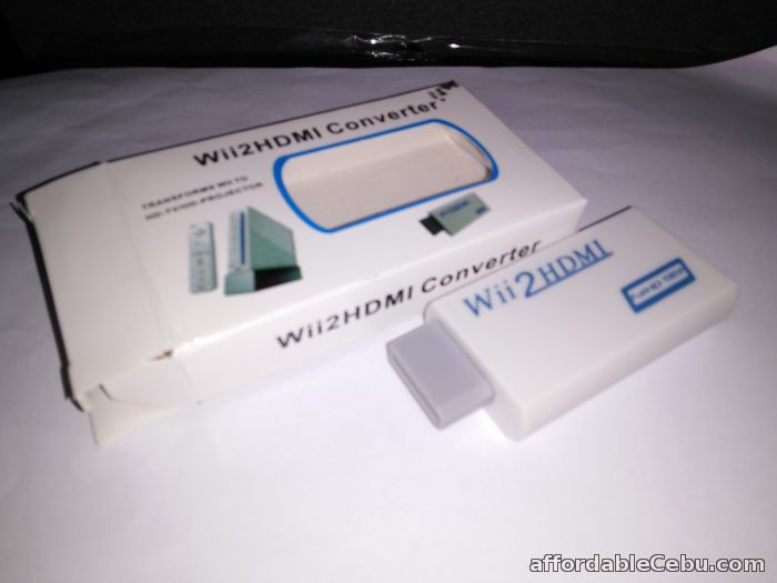 1st picture of Wii To HDMI (wii2hdmi) Upscaling Converter Adapter 3.5mm White For Sale in Cebu, Philippines