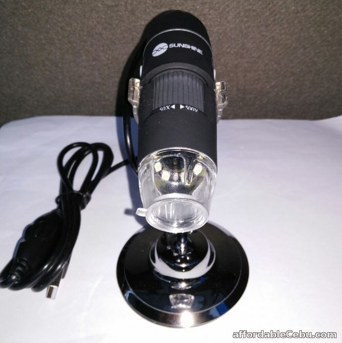 2nd picture of DM-500 500X Digital Microscope 8 LED Endoscope 2.0 USB Magnifier For Sale in Cebu, Philippines