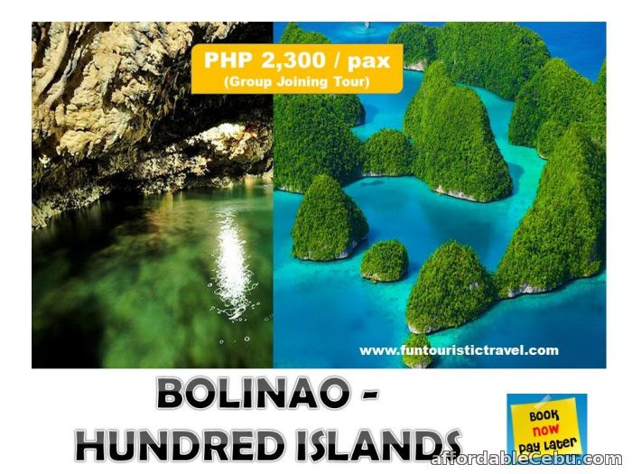 1st picture of OVERNIGHT BOLINAO AND HUNDRED ISLANDS TOUR PACKAGE Offer in Cebu, Philippines