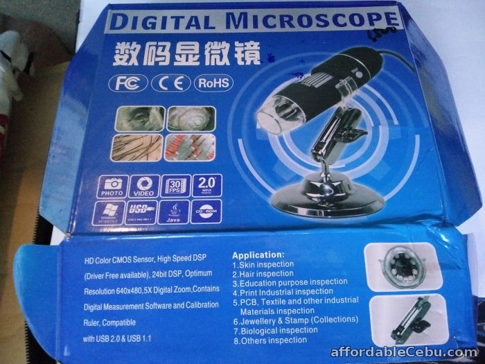 5th picture of DM-500 500X Digital Microscope 8 LED Endoscope 2.0 USB Magnifier For Sale in Cebu, Philippines