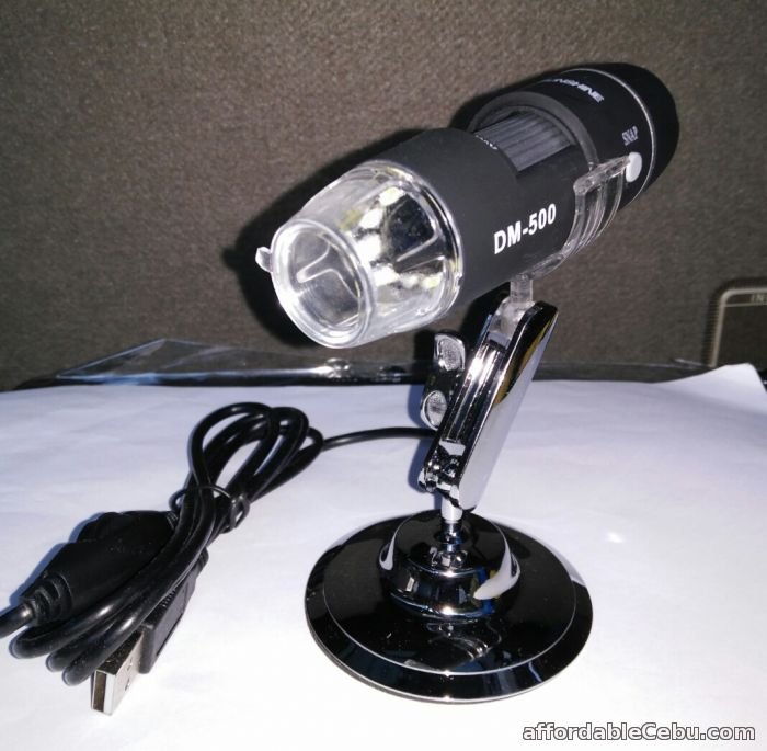 4th picture of DM-500 500X Digital Microscope 8 LED Endoscope 2.0 USB Magnifier For Sale in Cebu, Philippines
