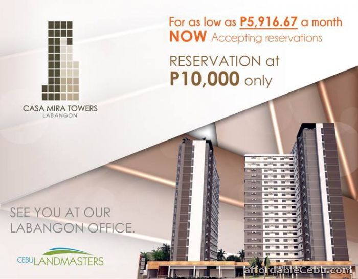 1st picture of Low-Cost Condominium in Labangon, Cebu City For Sale in Cebu, Philippines