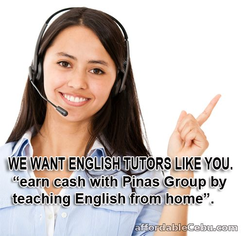 1st picture of Accepting Online English Instructors. No experience needed Looking For in Cebu, Philippines