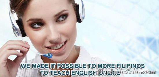 1st picture of REGISTER NOW! GET HOME BASED TEACHING JOB. Immediate Hiring of Filipino English Tutors Looking For in Cebu, Philippines