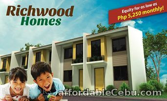 1st picture of Richwood Homes Townhouses Compostela, Cebu For Sale in Cebu, Philippines