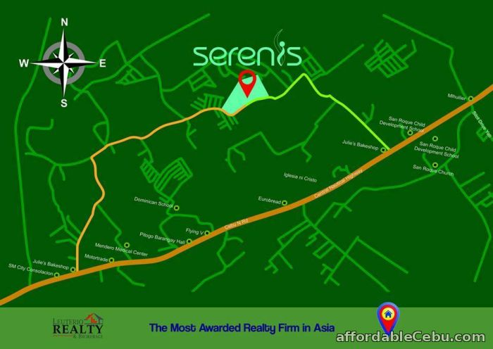 4th picture of SERENIS RESIDENCES, CONSOLACION CEBU - 0923.892.7146 For Sale in Cebu, Philippines