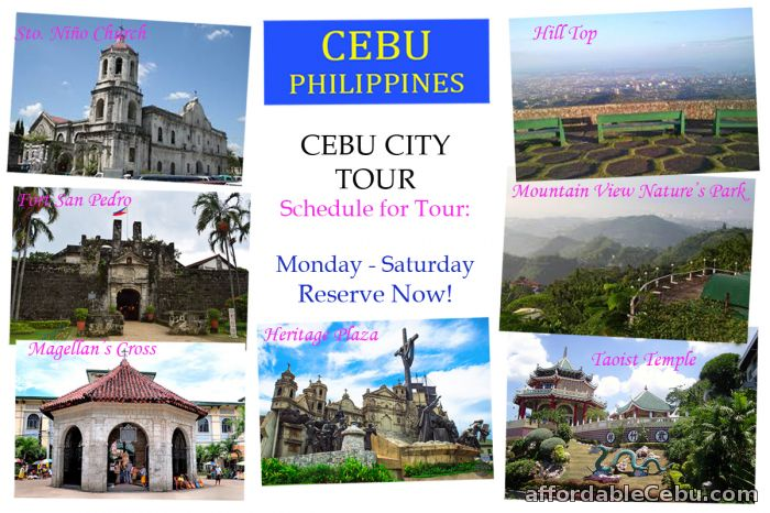 1st picture of Cebu City Tour & Twin City Tour Offer in Cebu, Philippines