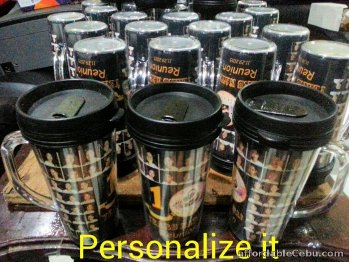 4th picture of Personalized mugs, pens, fans, tumblers, button pins and more For Sale in Cebu, Philippines