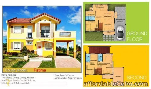 2nd picture of Camella Riverfront Talamban Fatima Model Pre Selling For Sale in Cebu, Philippines