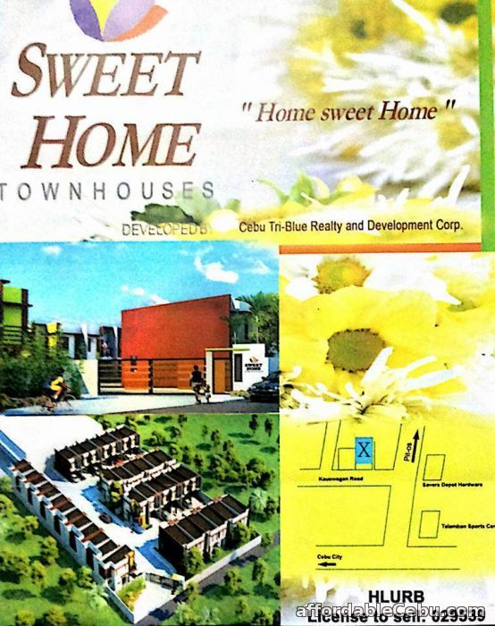 1st picture of House For Sale in Cebu RFO Sweet Homes Residences For Sale in Cebu, Philippines