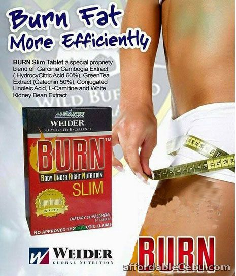 1st picture of Genuine BURN Slim by Weider - Free Shipping For Sale in Cebu, Philippines