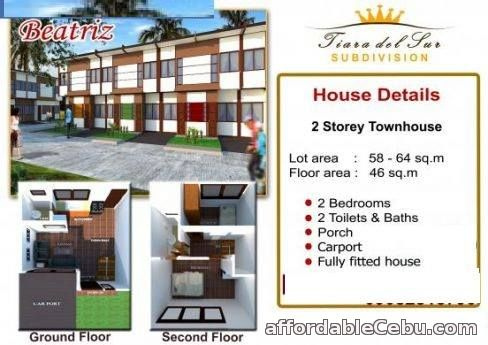 5th picture of House & Lot For Sale in Cebu TIARA DEL SUR Talisay City For Sale in Cebu, Philippines