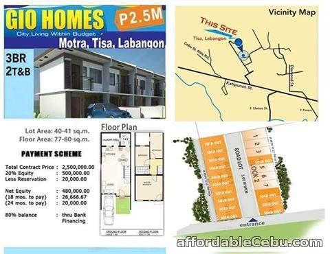 5th picture of House For Sale in Cebu City Gio Homes Tisa For Sale in Cebu, Philippines