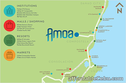 5th picture of house for sale at Amoa Subdivision,Compostela cebu For Sale in Cebu, Philippines