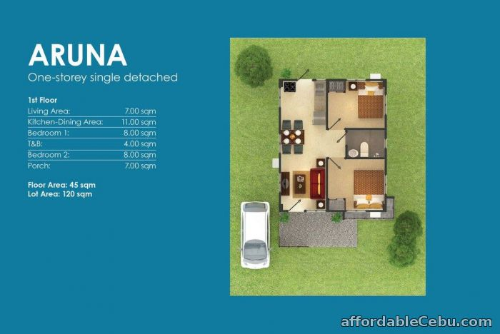 3rd picture of house for sale at Amoa Subdivision,Compostela cebu For Sale in Cebu, Philippines